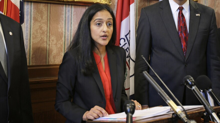 Vanita Gupta, head of the civil rights division at the Department of Justice.