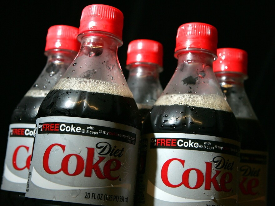 Some researchers think that artificial sweeteners, most frequently consumed in diet drinks, may confuse the body.