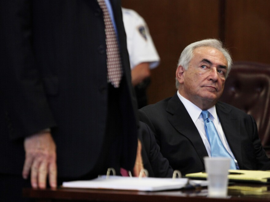 Former IMF head Dominique Strauss-Kahn was released Friday.