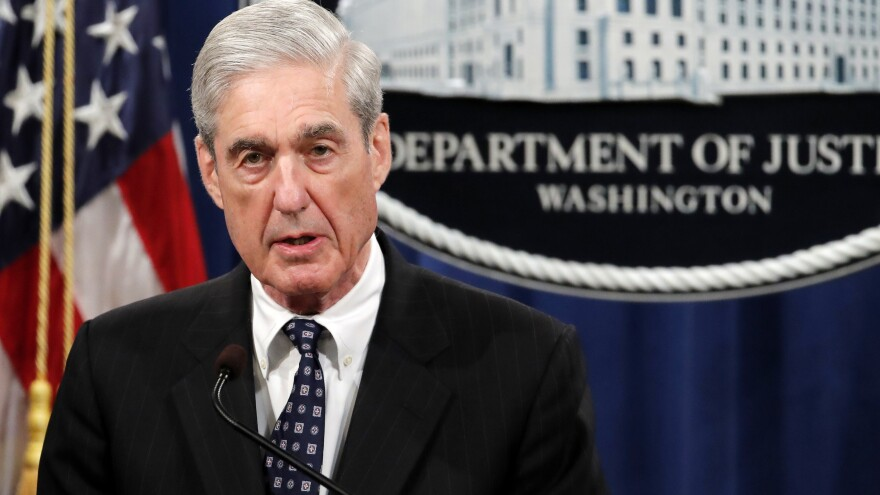 Special counsel Robert Mueller spoke at the Department of Justice on May 29 about the Russia investigation.