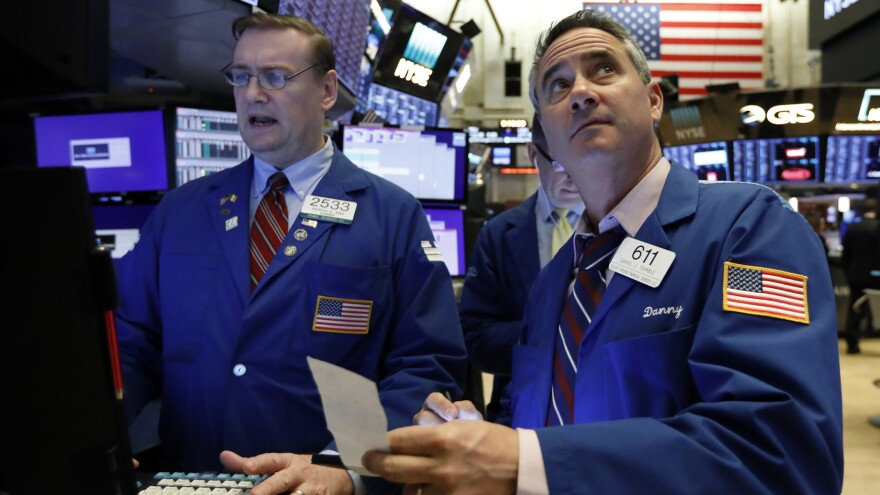 The stock market rebounded Friday after cratering on fears over the coronavirus pandemic.