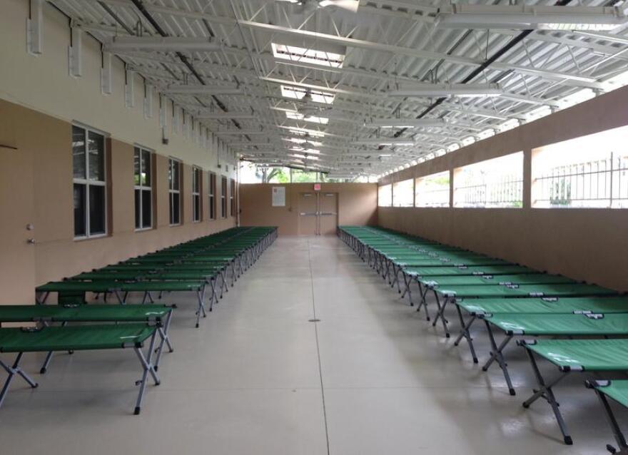 Hurricane evacuation shelter