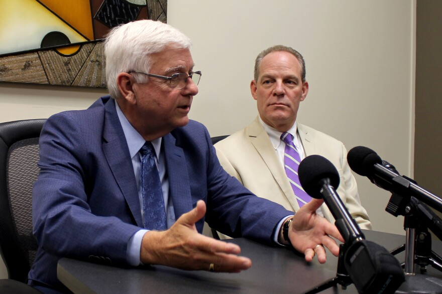 Former DHS director, Jerry Foxhoven, said he was forced out because he questioned spending DHS money to pay a staffer for Governor Kim Reynolds.