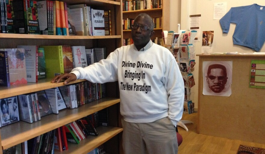 Johnson Lancaster has been working at the Progressive Emporium and Education Center off and on since the early 1980s. Oct. 2017