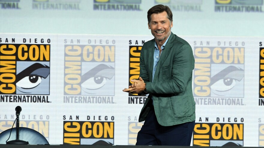 Nikolaj Coster-Waldau said he approved of the way <em>Game of Thrones</em> killed him off. But the audience at Friday's panel didn't agree.