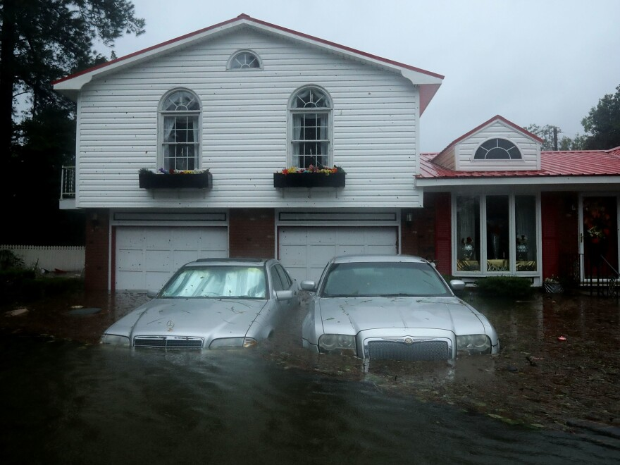At a home not far from the Neuse River in New Bern, N.C., floodwaters last weekend overwhelmed the high-priced vehicles out front. According to consumer advocates, low-income homeowners stand to lose the most from changes expected in the insurance industry.