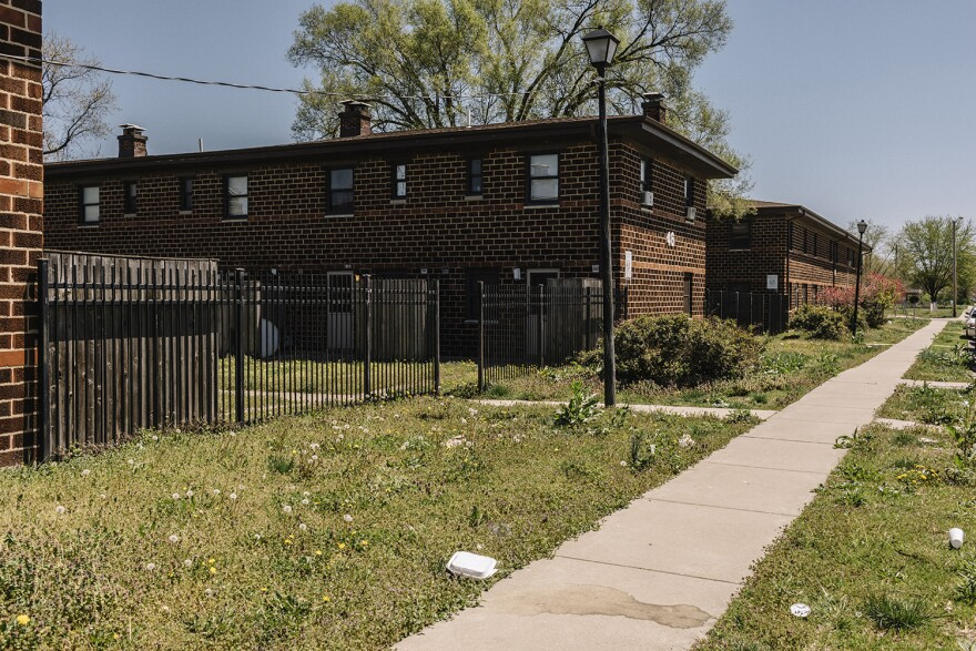 The John Robinson Homes opened in 1943 as a segregated apartment complex for black families in East St. Louis.