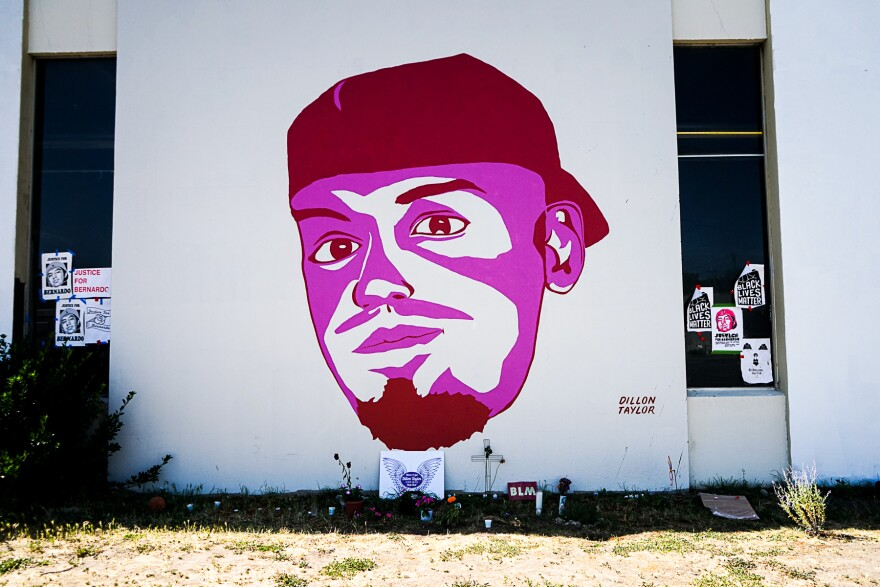 Photo of Dillon Taylor portrait.