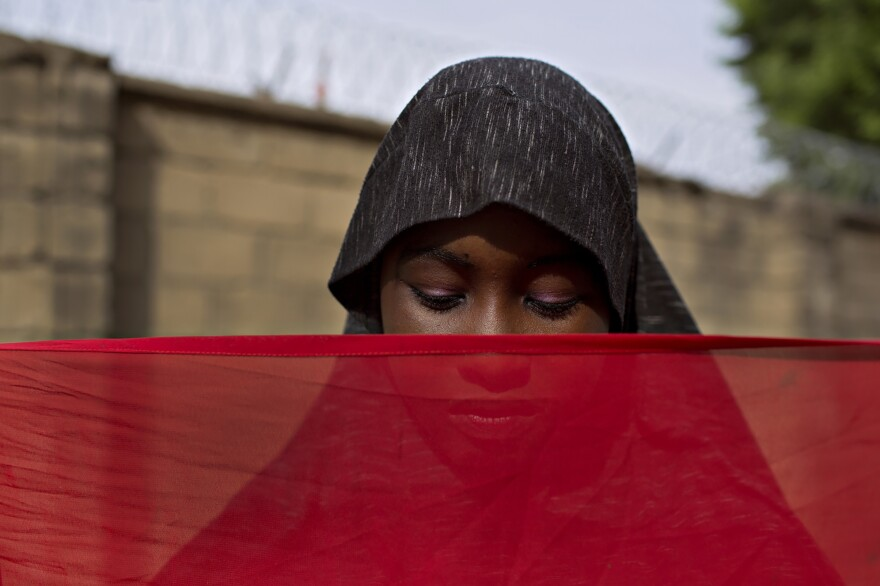 Amina, who has suffered forced marriage and captivity at the hands of Boko Haram from the age of 13, now lives in a safe house in northeastern Nigeria where she says there's peace and security. For her future, she hopes to go to school and to get married one day.