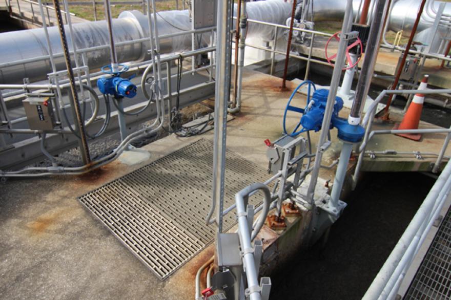 The Mandarin Waste Water Treatment Plant.