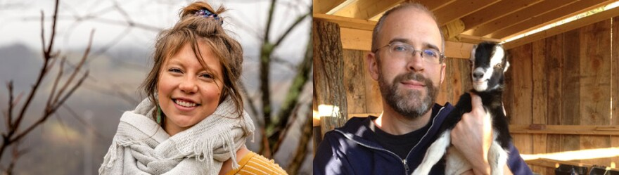 Caitlin Tan and Mason Adams are the new hosts of Inside Appalachia.