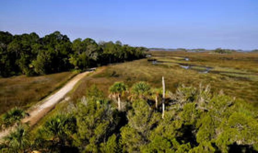 Yankeetown residents see natural resources such as the Withlacoochee Gulf Preserve as natural protectors against sea-level rise and climate change.