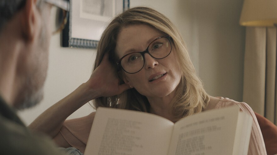 """Every life is interesting and valuable ... we are all at the center of our own narratives,"" says Julianne Moore. She stars as <em>Gloria Bell </em>in a remake of the 2013 Chilean film <em>Gloria. </em>Sebastián Lelio directed both films."