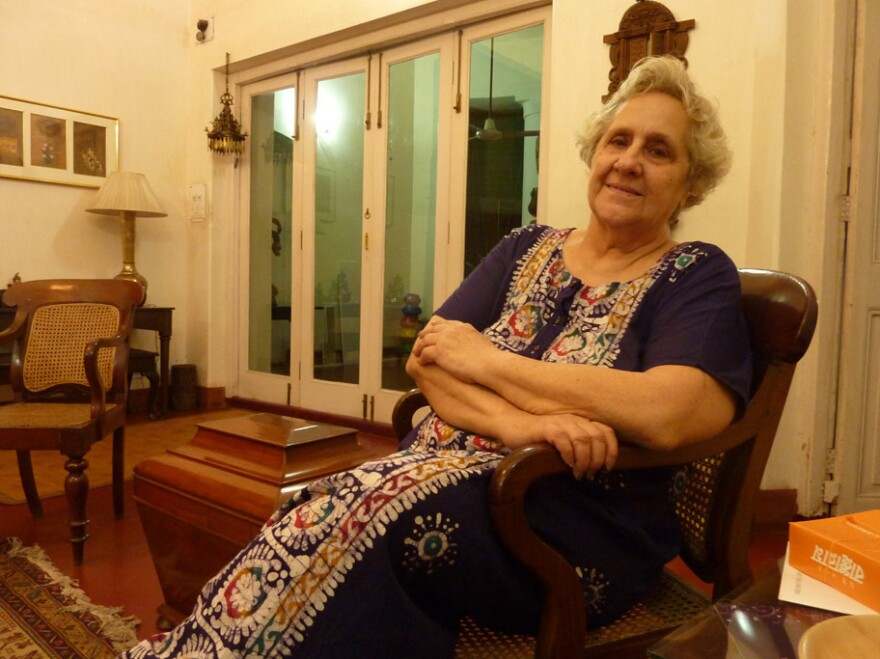 Flower Silliman, 81, is the memory keeper of Calcutta's dwindling Jewish population.
