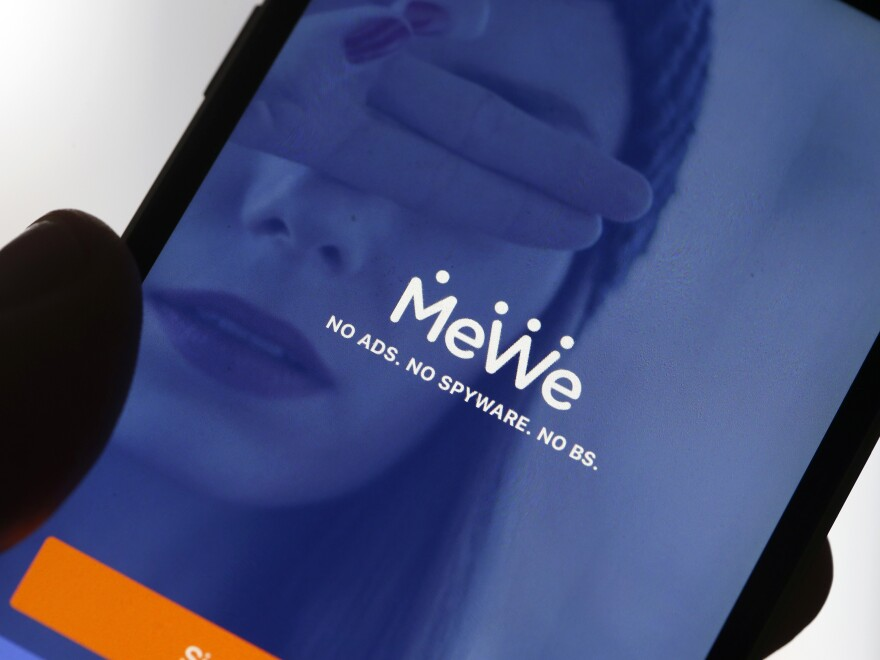 The social network MeWe is among a number of apps seeing an influx of users after Facebook and Twitter kicked off Donald Trump.