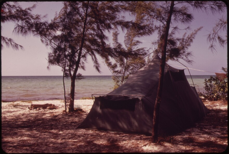 Long Key State Park is pictured.