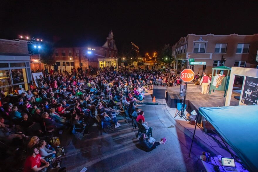 File photo. Shakespeare in the Streets presented its 2015 production in north St. Louis.