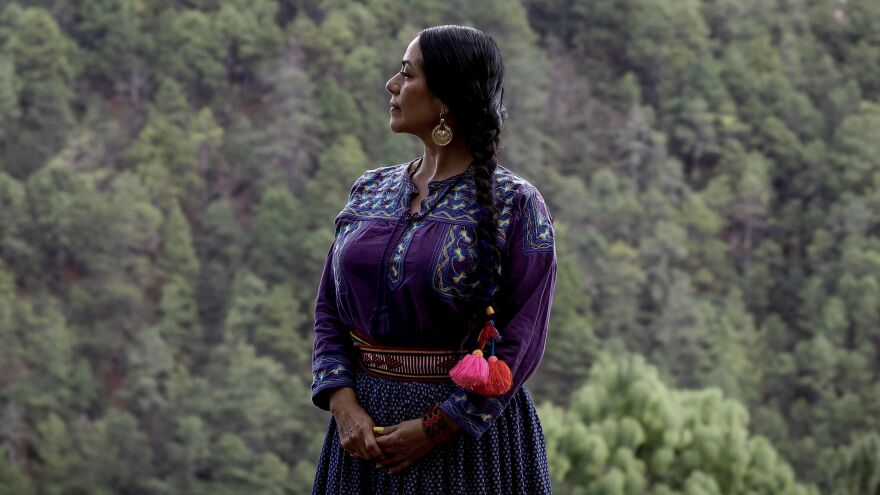 "Lila Downs' song for the <em>Morning Edition</em> Song Project,  ""Dark Eyes,"" honors essential workers who are often overlooked."