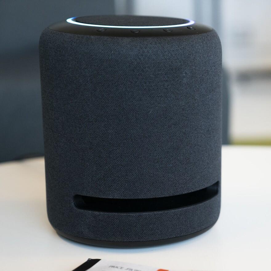 Amazon's Echo Studio.