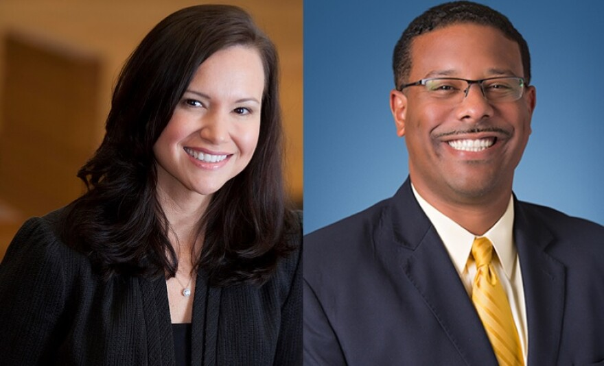 Attorney General candidates, Republican Ashley Moody and Democrat Sean Shaw