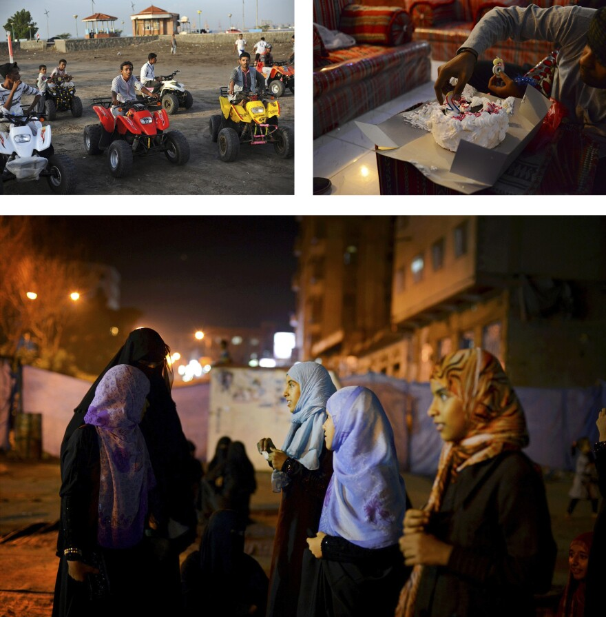 Yemen's decent by Alex Potter