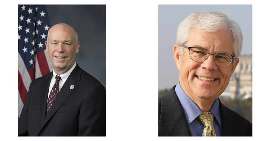 Montana gubernatorial candidates (L to R) Greg Gianforte and Mike Cooney.