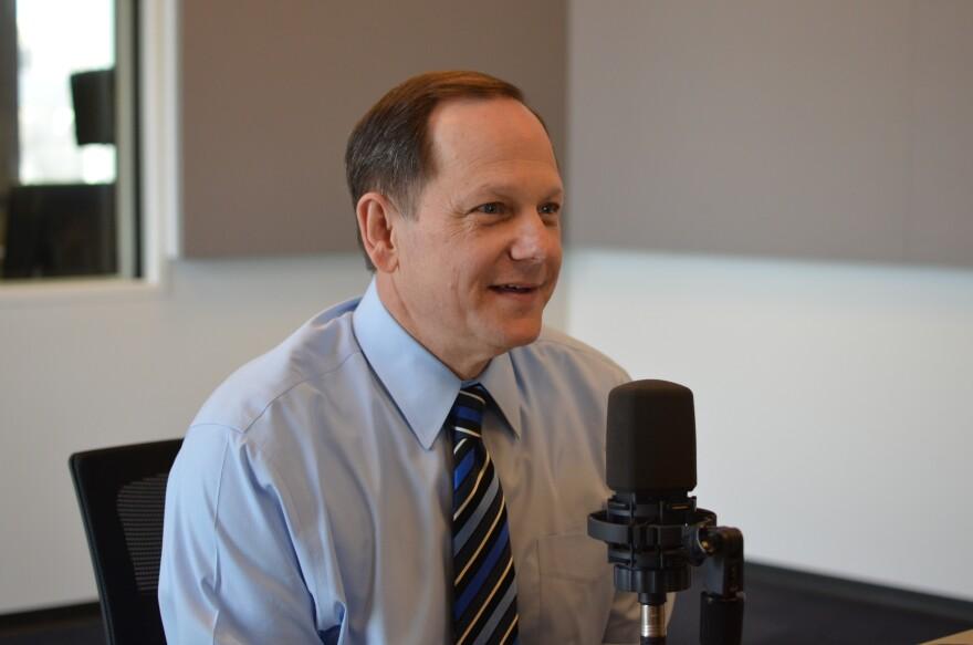 St. Louis Mayor Francis Slay talks to 'St. Louis on the Air' host Don Marsh on Jan. 6, 2016.