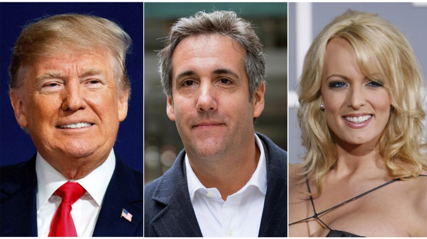 President Trump directed then-attorney Michael Cohen to buy the silence of adult film actress Stormy Daniels ahead of Election Day in 2016. On Monday, a judge threw out Daniels' defamation lawsuit against Trump.