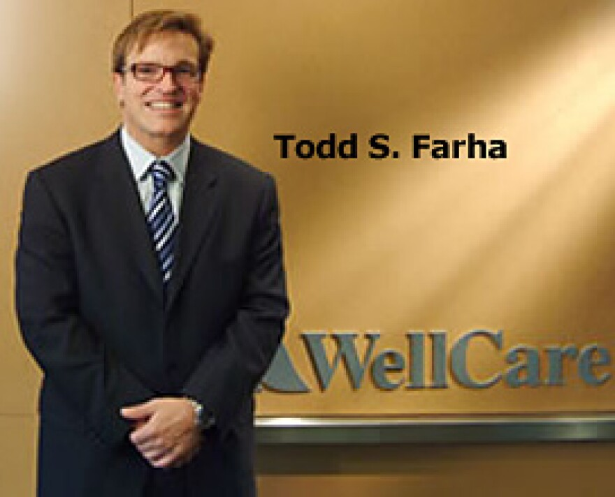 Former CEO Todd Farha in better days.