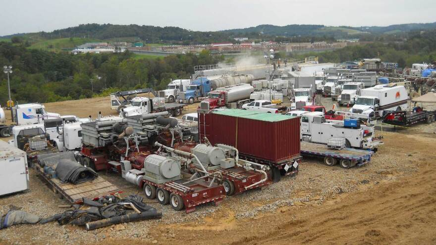 Fracking at Marcellus Shale