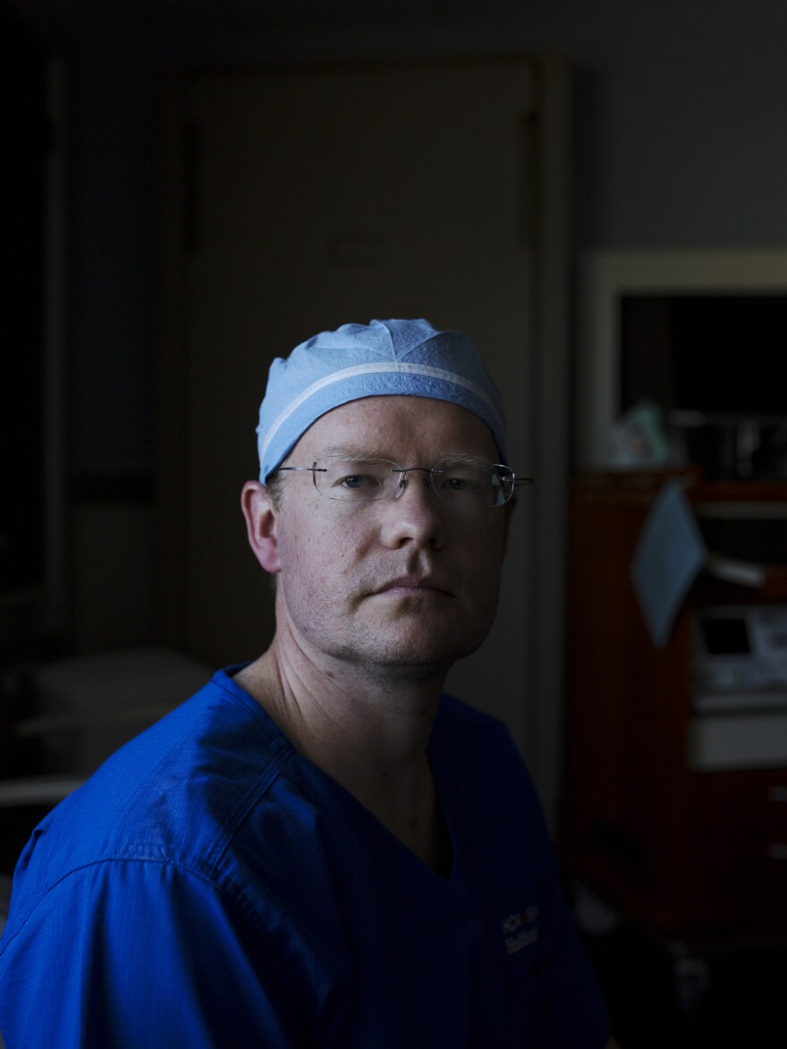 Dr. Brandon Low was on call when Sarah was rushed to the hospital. Experienced in treating gunshot trauma, Low says Sarah's wounds were so devastating because she had been shot at close range with a powerful weapon in a vulnerable part of her body.