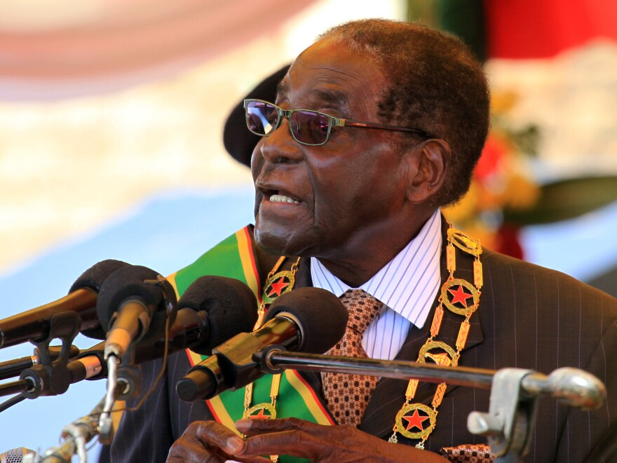 In a speech on Monday, Zimbabwean President Robert Mugabe said his compatriots  failed to protect Cecil the lion.