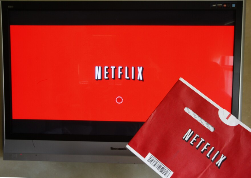 NPR has learned that Netflix's new policy of yearlong parental leave applies to employees of its streaming business, but not those in Netflix DVD distribution centers.