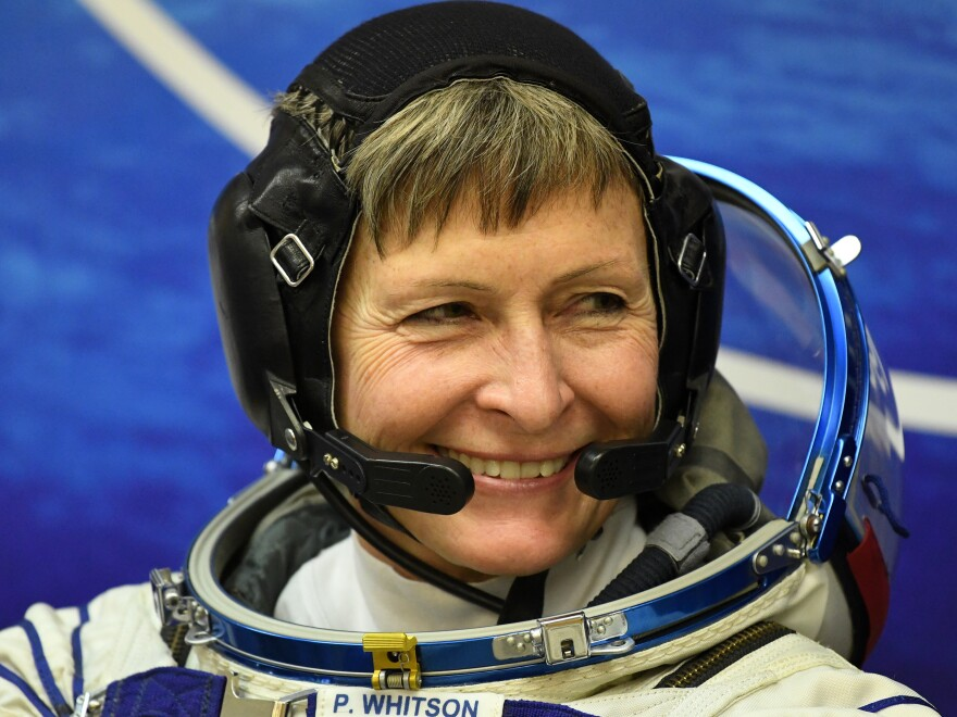 Early next year astronaut Peggy Whitson will celebrate her 57th birthday and become the oldest woman in space as she orbits the Earth on the International Space Station.