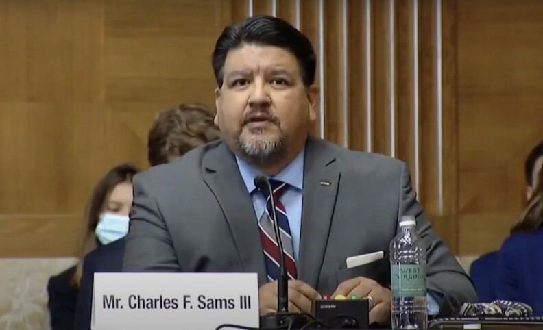 Charles Sams poised to become Park Service's first Native director