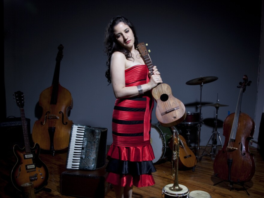 Ani Cordero's new album is <em>Recordar: Latin American Songs Of Love And Protest.</em>