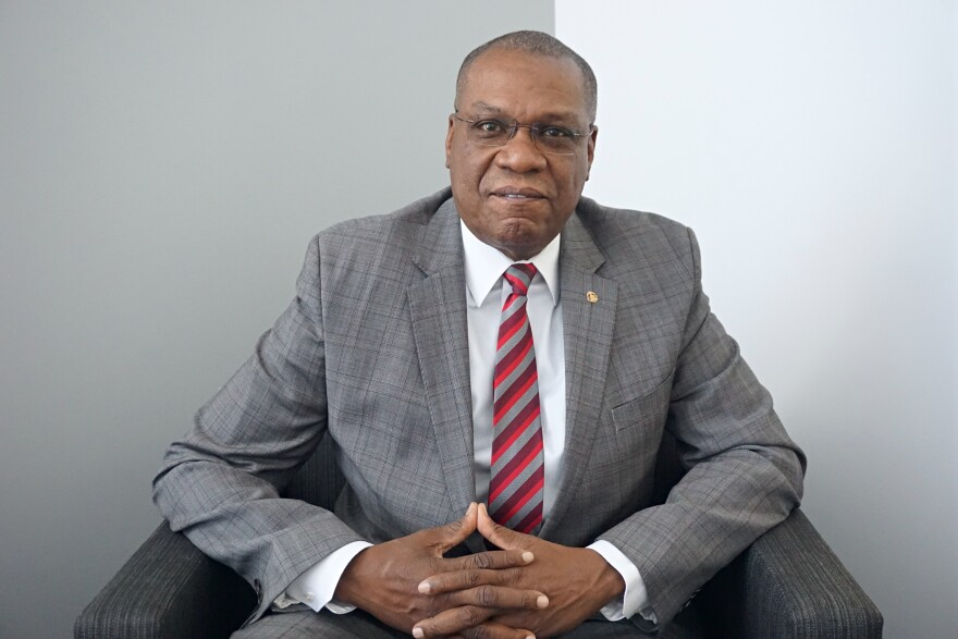 Adolphus Pruitt, president of the St. Louis chapter of the NAACP, joined the show to talk about his support of airport privatization. | 12/4/19