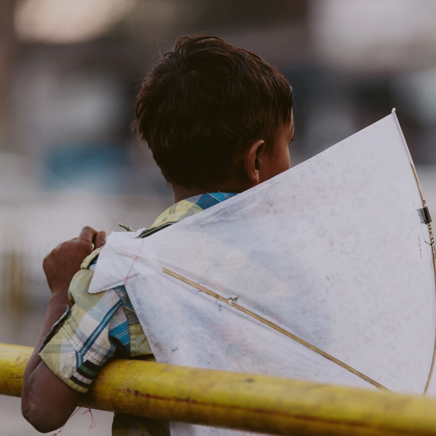 Kids and kites — a match made for the heavens.