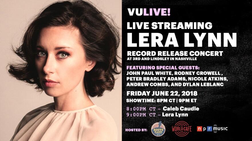 Watch Lera Lynn's Record Release Concert, live via VuHaus on June 22, 2018.