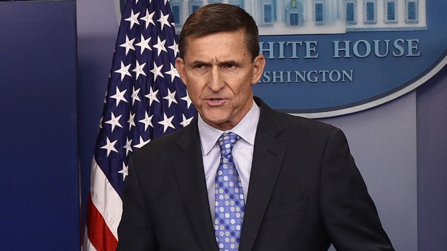 Questions have loomed over National Security Adviser Michael Flynn's contact with a Russian diplomat in late December — and the explanation provided by the White House has changed over time.