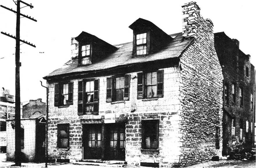 The Jean Baptiste Roy home on South 2nd Street was demolished in 1947.