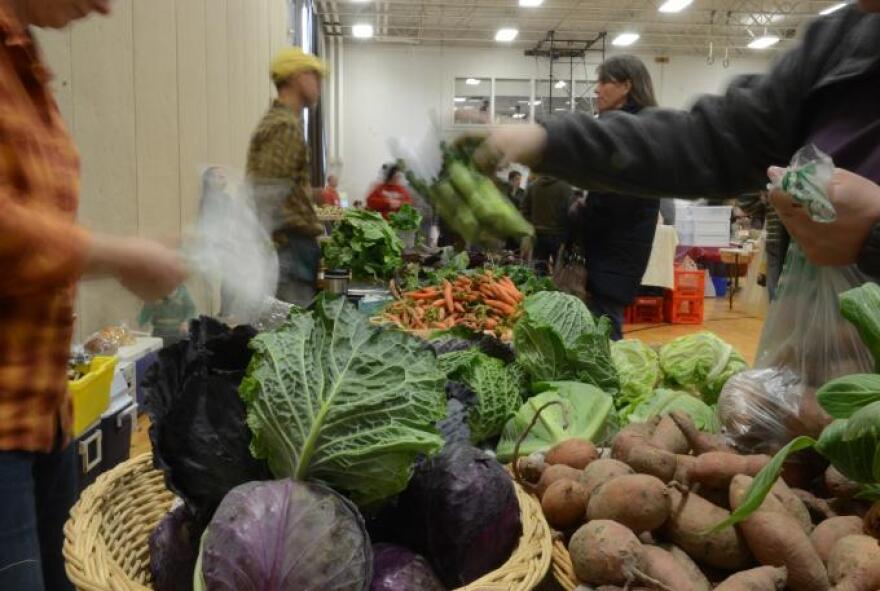 photo of farmer's market