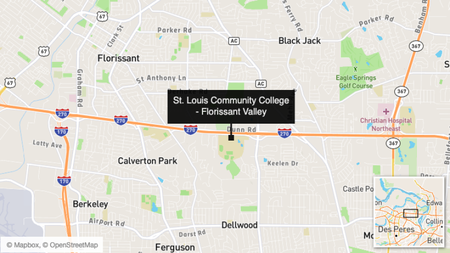 The north county vaccination site will be located on the Florissant Valley campus of St. Louis Community College in Ferguson.