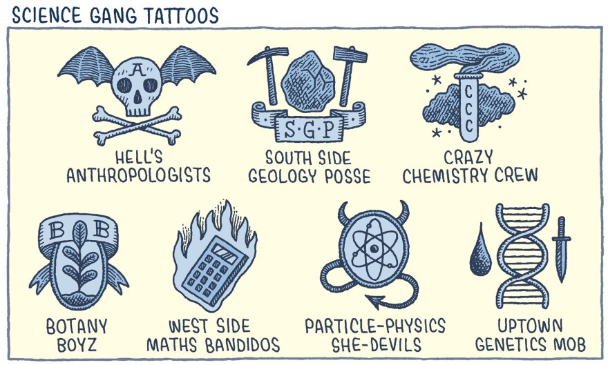 From <em>Department of Mind-Blowing Theories</em> by Tom Gauld.