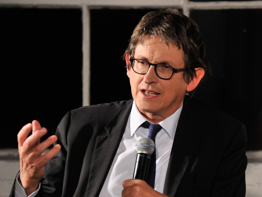 <em>Guardian</em> Editor-In-Chief Alan Rusbridger speaks at a debate about the newspaper's NSA coverage, on Sept. 19.