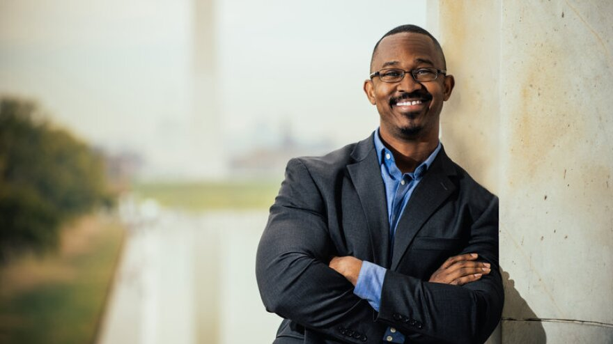 Joshua Johnson is the host of the new nationally-distributed public radio show 1A.