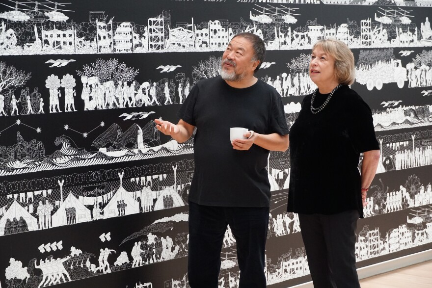 "Ai Weiwei and the Kemper's Sabine Eckmann examine ""The Odyssey."" [11/8/19]"