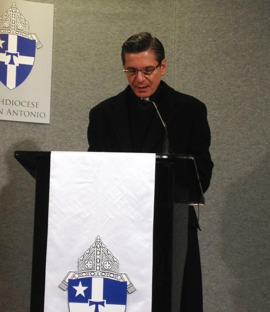 archbishop_gustavo_garcia_siller_at_immigration_letter_announcement_131126.JPG