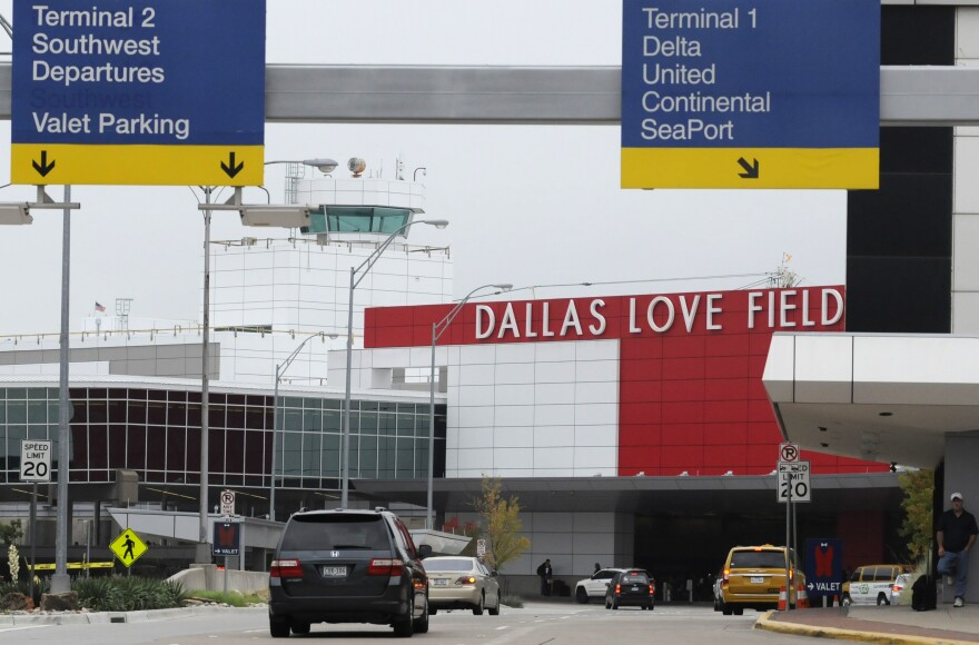 Dallas Love Field Airport still has around 12,000 total parking spaces, despite those spaces affected by the flooding.