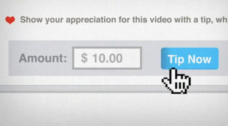 The video sharing site Vimeo has added a feature that invites users to chip in to support the filmmakers they like.